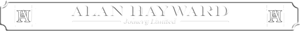 Alan Hayward Joinery Banner
